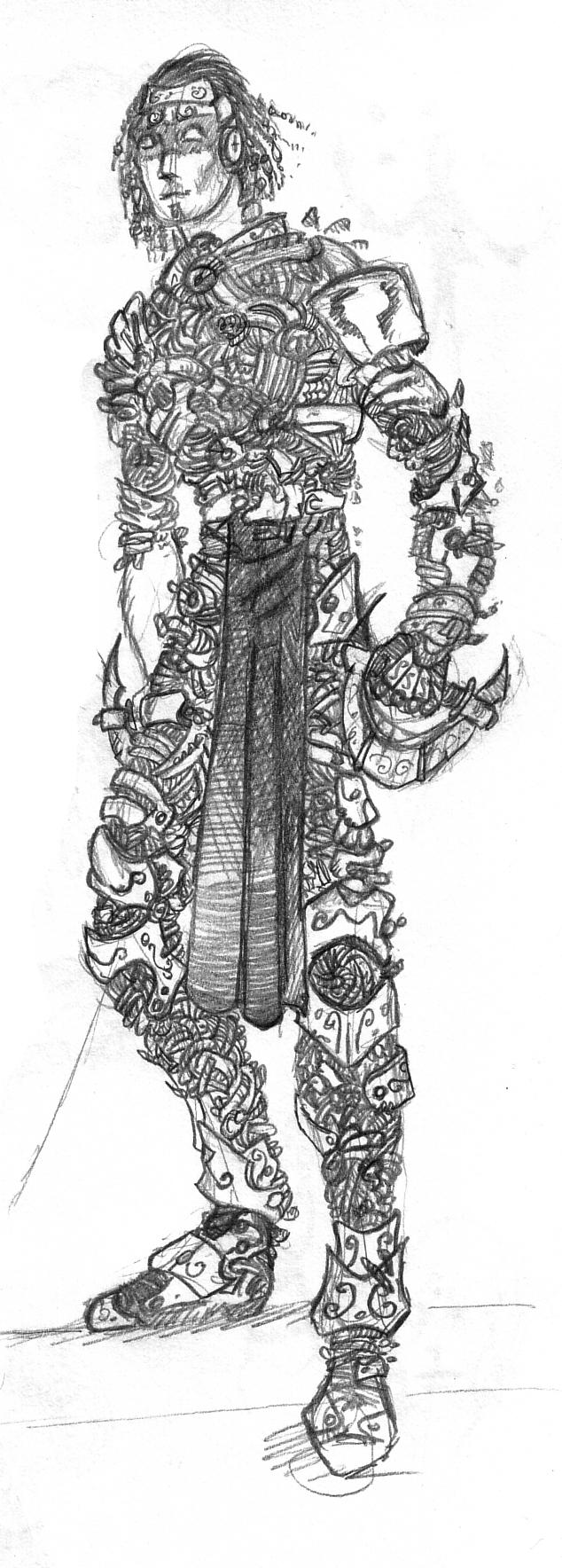 Archives armure maya nicotoons - Dessin armure ...